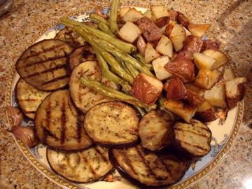 fall veggie platter