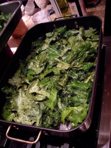 kale chips, uncooked