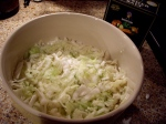 bowl of 'kraut-to-be?