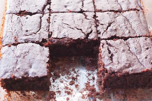 beet brownie