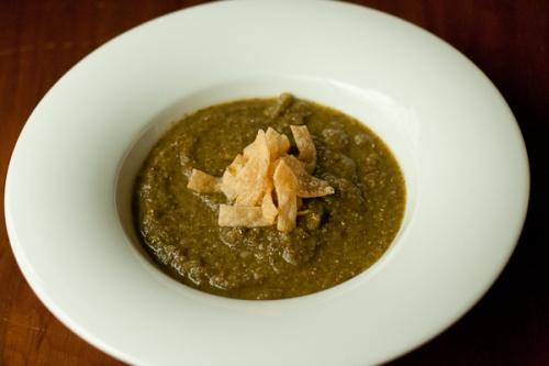 Greens soup